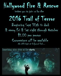 2016 Trail of Terror